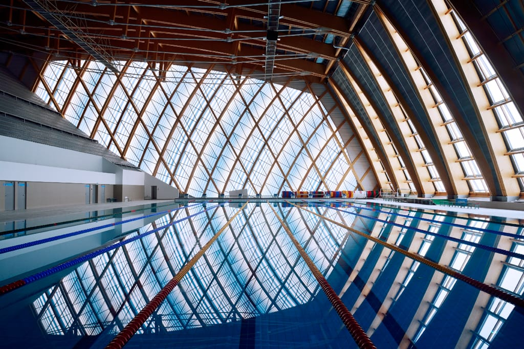 Water Sports Palace Russia Kazan