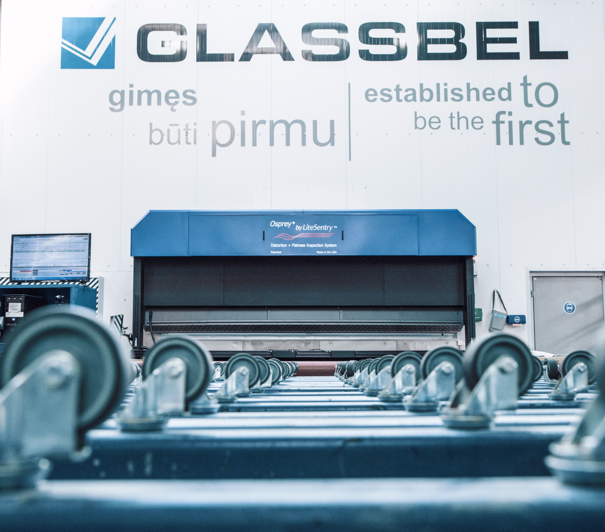 GLASSBEL: Quality is the key